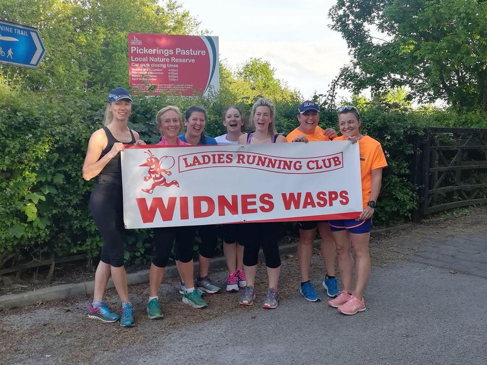 WIDNES WASPS LADIES RUNNING CLUB