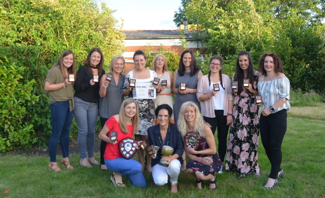 Widnes Wasps Ladies Running Club - 2017/18 Awards Evening