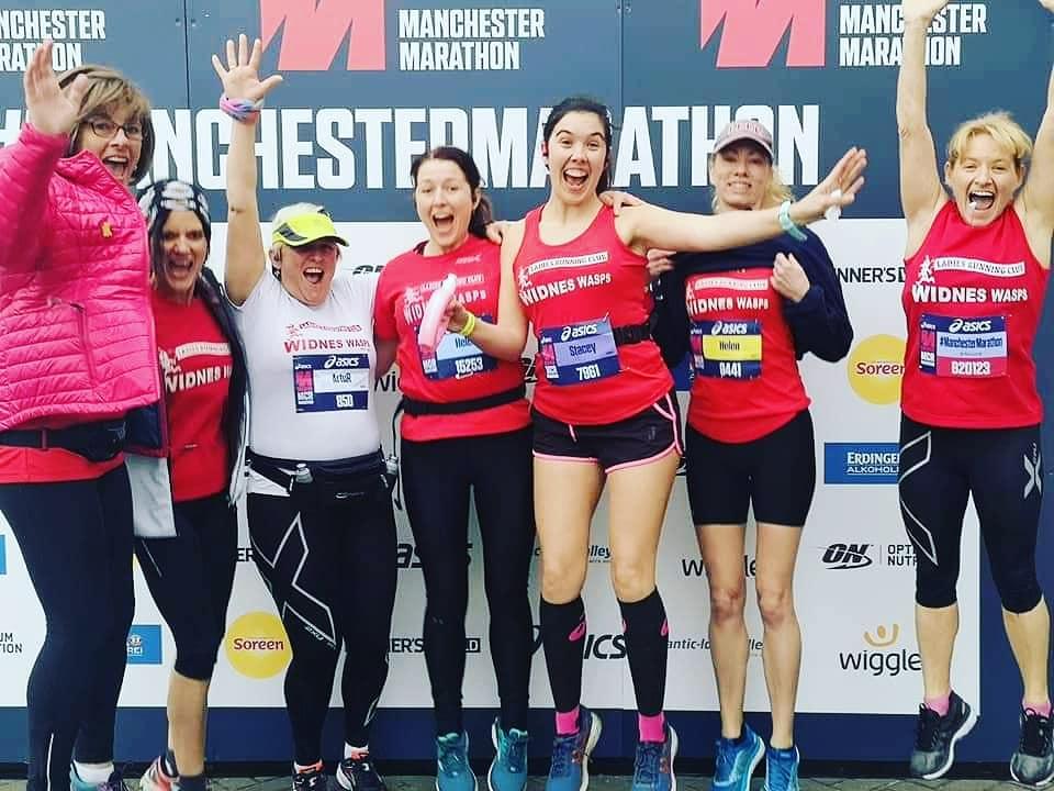 Manchester marathon | Widnes Wasps April Round Up