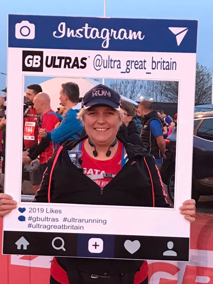 Agata at the GB Ultras M2L Ultra Marathon | Widnes Wasps April round up