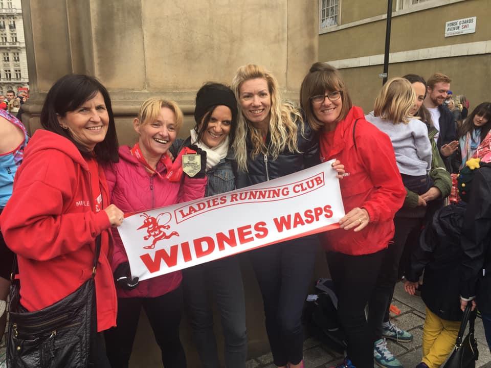 london marathon supporters | Widnes Wasps April Round Up